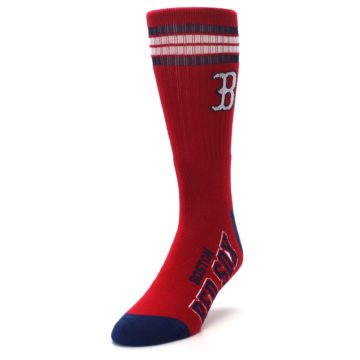 Image of Boston Red Sox Men's Athletic Crew Socks (side-2-front-07)