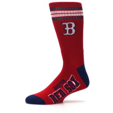 Image of Boston Red Sox Men's Athletic Crew Socks (side-2-11)