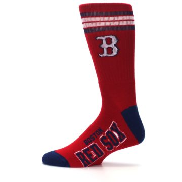 Image of Boston Red Sox Men's Athletic Crew Socks (side-2-12)