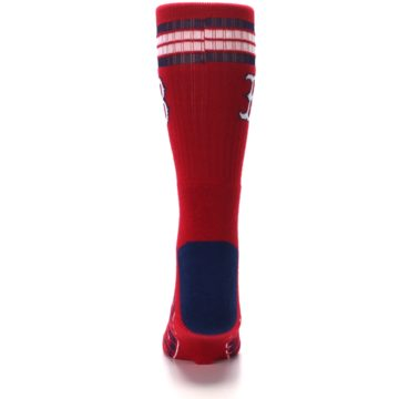 Image of Boston Red Sox Men's Athletic Crew Socks (back-18)
