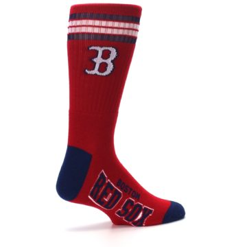 Image of Boston Red Sox Men's Athletic Crew Socks (side-1-23)