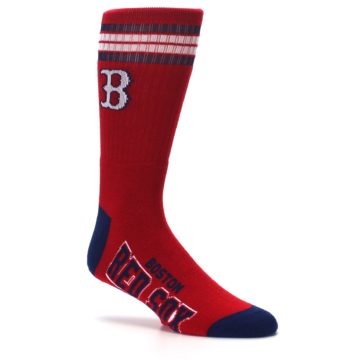 Image of Boston Red Sox Men's Athletic Crew Socks (side-1-26)