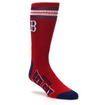 Image of Boston Red Sox Men's Athletic Crew Socks (side-1-27)