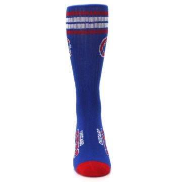 Image of Chicago Cubs Men's Athletic Crew Socks (front-04)