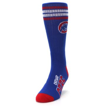 Image of Chicago Cubs Men's Athletic Crew Socks (side-2-front-06)