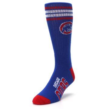 Image of Chicago Cubs Men's Athletic Crew Socks (side-2-front-07)