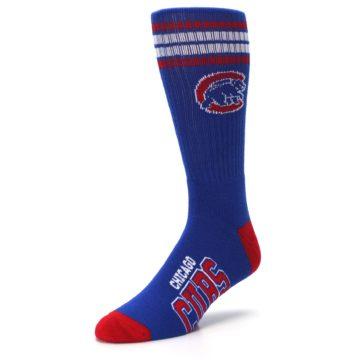 Image of Chicago Cubs Men's Athletic Crew Socks (side-2-front-08)