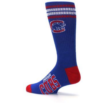 Image of Chicago Cubs Men's Athletic Crew Socks (side-2-13)