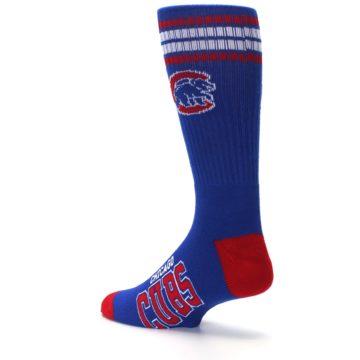 Image of Chicago Cubs Men's Athletic Crew Socks (side-2-back-14)