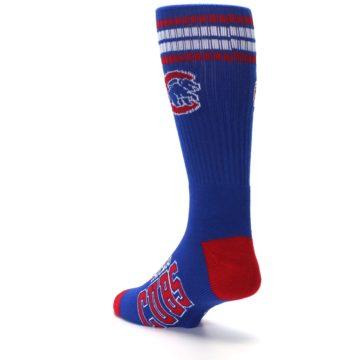 Image of Chicago Cubs Men's Athletic Crew Socks (side-2-back-15)