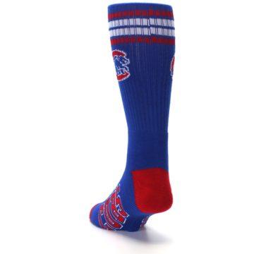Image of Chicago Cubs Men's Athletic Crew Socks (side-2-back-16)