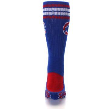 Image of Chicago Cubs Men's Athletic Crew Socks (back-18)