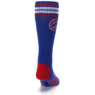 Image of Chicago Cubs Men's Athletic Crew Socks (back-19)