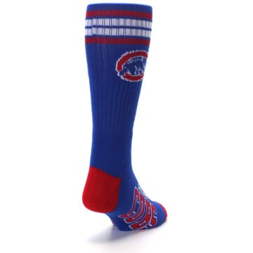 Image of Chicago Cubs Men's Athletic Crew Socks (side-1-back-20)