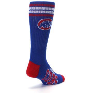Image of Chicago Cubs Men's Athletic Crew Socks (side-1-back-21)