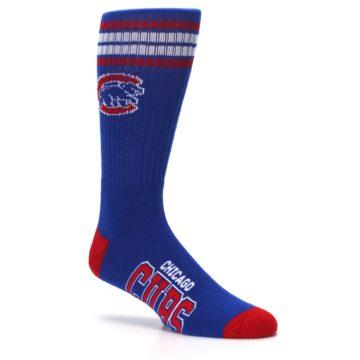 Image of Chicago Cubs Men's Athletic Crew Socks (side-1-26)