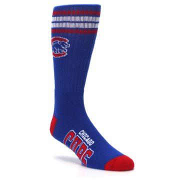 Image of Chicago Cubs Men's Athletic Crew Socks (side-1-27)