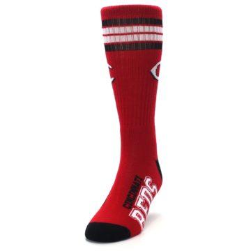 Image of Cincinnati Reds Men's Athletic Crew Socks (side-2-front-06)