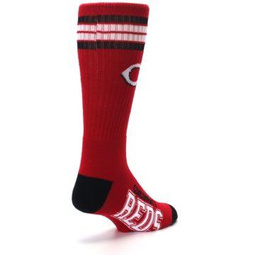 Image of Cincinnati Reds Men's Athletic Crew Socks (side-1-back-21)