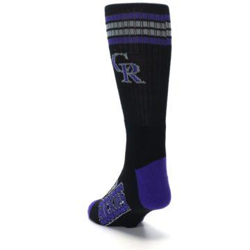 Image of Colorado Rockies Men's Athletic Crew Socks (side-2-back-16)