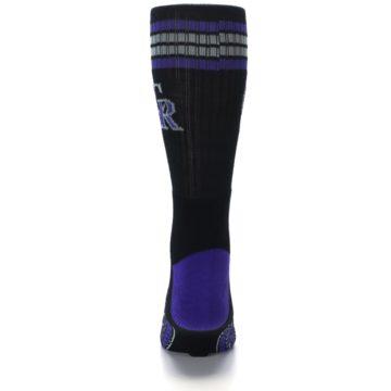 Image of Colorado Rockies Men's Athletic Crew Socks (back-18)