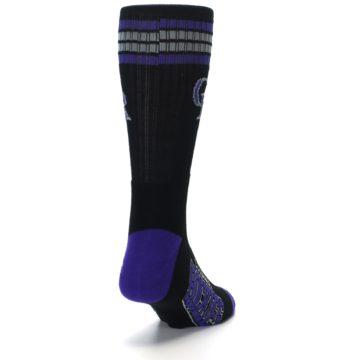 Image of Colorado Rockies Men's Athletic Crew Socks (side-1-back-20)