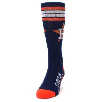 Image of Houston Astros Men's Athletic Crew Socks (side-2-front-06)