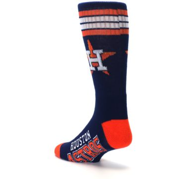 Image of Houston Astros Men's Athletic Crew Socks (side-2-back-15)