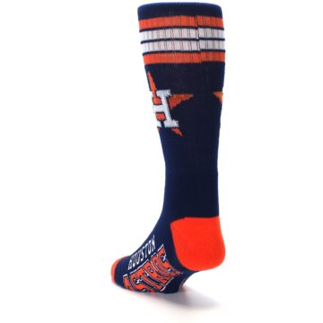 Image of Houston Astros Men's Athletic Crew Socks (side-2-back-16)