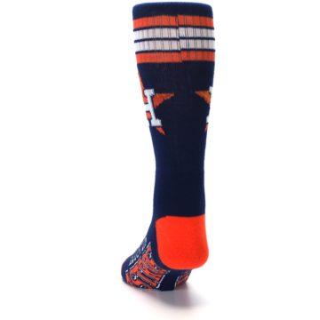 Image of Houston Astros Men's Athletic Crew Socks (back-17)