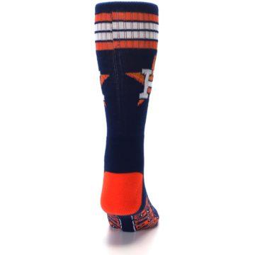 Image of Houston Astros Men's Athletic Crew Socks (back-19)