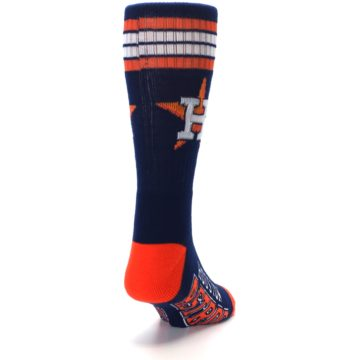 Image of Houston Astros Men's Athletic Crew Socks (side-1-back-20)