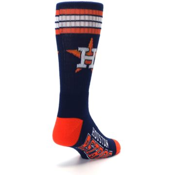 Image of Houston Astros Men's Athletic Crew Socks (side-1-back-21)