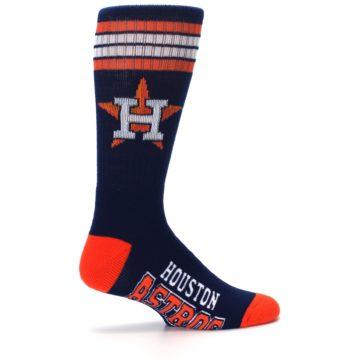 Image of Houston Astros Men's Athletic Crew Socks (side-1-24)
