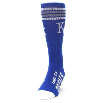 Image of Kansas City Royals Men's Athletic Crew Socks (side-2-front-06)