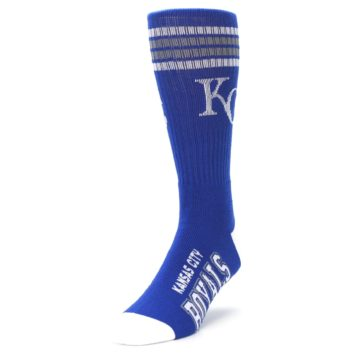 Image of Kansas City Royals Men's Athletic Crew Socks (side-2-front-07)