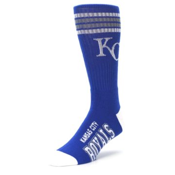Image of Kansas City Royals Men's Athletic Crew Socks (side-2-front-08)