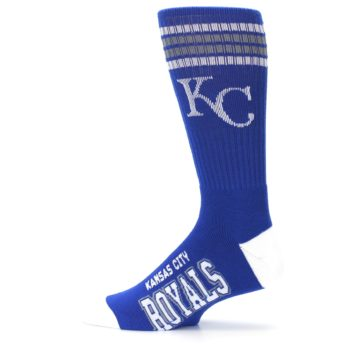 Image of Kansas City Royals Men's Athletic Crew Socks (side-2-12)