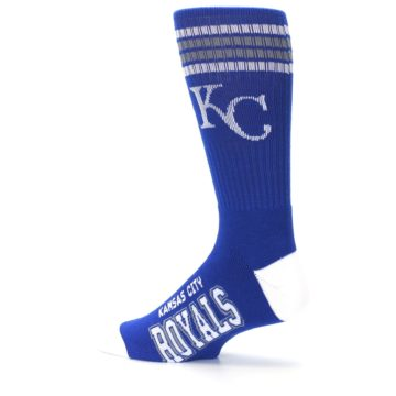 Image of Kansas City Royals Men's Athletic Crew Socks (side-2-13)