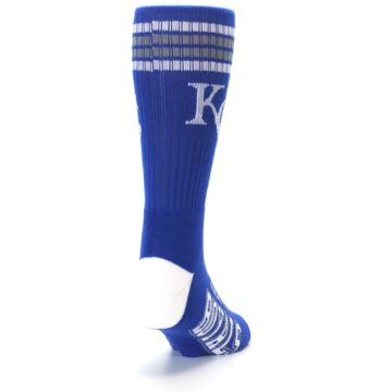 Image of Kansas City Royals Men's Athletic Crew Socks (side-1-back-20)