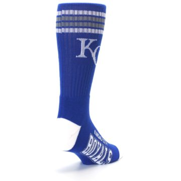 Image of Kansas City Royals Men's Athletic Crew Socks (side-1-back-21)