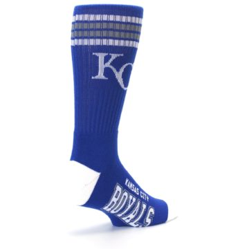 Image of Kansas City Royals Men's Athletic Crew Socks (side-1-back-22)
