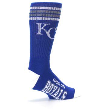 Image of Kansas City Royals Men's Athletic Crew Socks (side-1-23)
