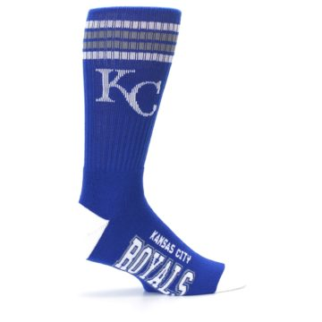 Image of Kansas City Royals Men's Athletic Crew Socks (side-1-24)