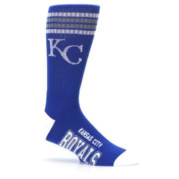 Image of Kansas City Royals Men's Athletic Crew Socks (side-1-25)