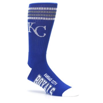 Image of Kansas City Royals Men's Athletic Crew Socks (side-1-26)