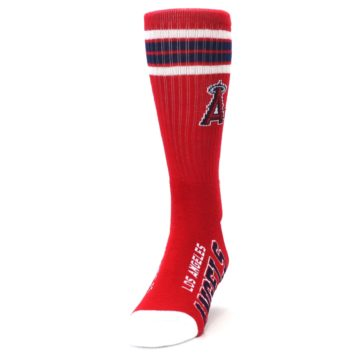 Image of Los Angeles Angels Men's Athletic Crew Socks (side-2-front-06)