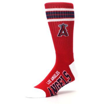 Image of Los Angeles Angels Men's Athletic Crew Socks (side-2-09)