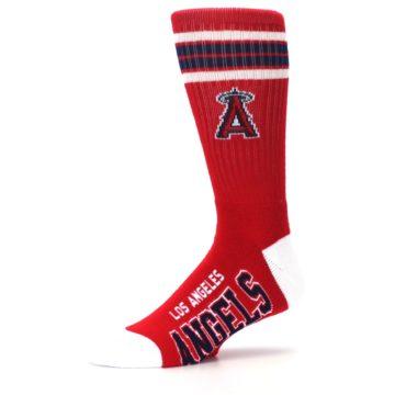 Image of Los Angeles Angels Men's Athletic Crew Socks (side-2-10)