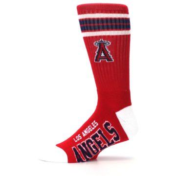 Image of Los Angeles Angels Men's Athletic Crew Socks (side-2-11)